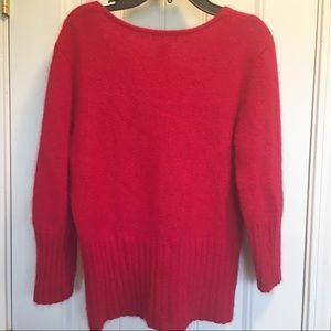 Apostrophe Sweaters - Apostrophe Angora Rabbit Hair & Nylon Sweater Sz M